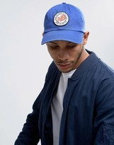 New Balance Cap With Retro Logo In Blue