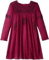 Pink Chicken Marabelle Dress (Toddler/Kid) - Magenta Purple - 6 Years