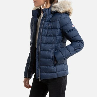 Tommy Jeans Zipped Hooded Short Puffer Jacket