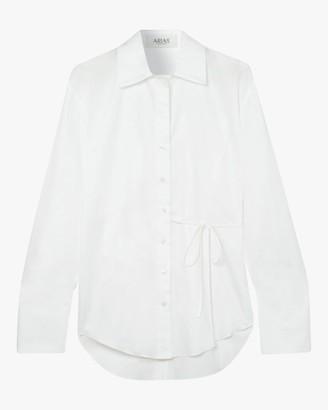 ARIAS Cotton Side-Tie Blouse