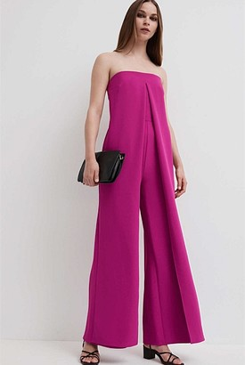 Witchery Strapless Jumpsuit