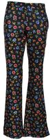Moschino Floral Power Flared Trousers