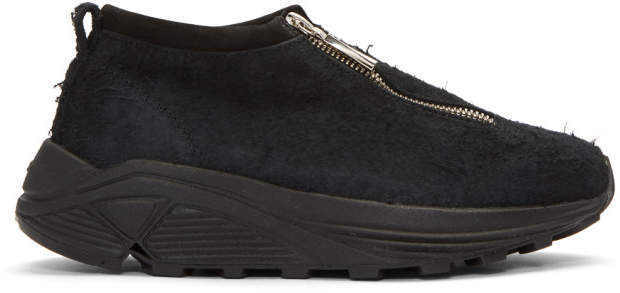 Diemme Black Suede Fontesi Low Sneakers