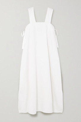 ÀCHEVAL PAMPA Samba Cotton-blend Midi Dress - White