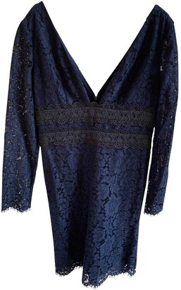 Diane von Furstenberg Blue Lace Dress for Women