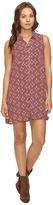 Brigitte Bailey Zahra Sleeveless Print Button Up Dress with Pockets