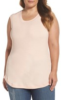 Melissa McCarthy Plus Size Women's Ribbed Tank