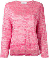 Dondup flared sweatshirt - women - Nylon/Polyester/Viscose - XS