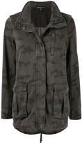 James Perse camouflage print jacket