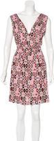 M Missoni Abstract Printed Mini Dress