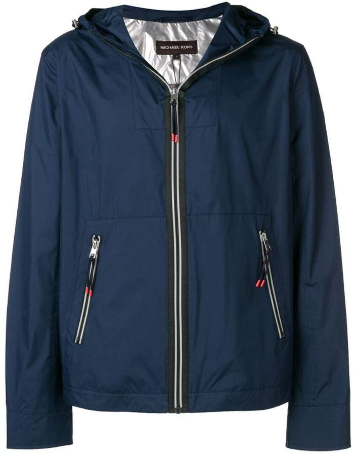 4a001a066ec Fitted Rain Jacket With Hood Mens - ShopStyle