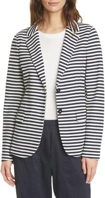 SEVENTY VENEZIA Seventy Stripe Knit Jacket