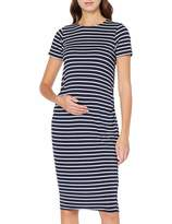 Dorothy Perkins Maternity Women's Stripe Sleeve Bodycon Dress