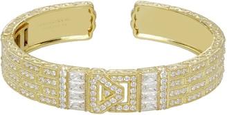 Judith Ripka 14K Clad Belt Cuff