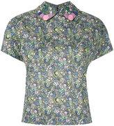 Olympia Le-Tan floral print shirt - women - Cotton - 36