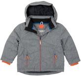 Hatley Gray Down Filled Faux Fur Trimmed Winter Ski Jacket (Toddler, Little Boys, & Big Boys)