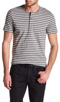 Kenneth Cole New York Striped Henley Shirt