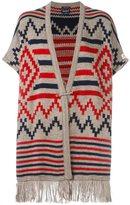 Woolrich seasonal pattern cape