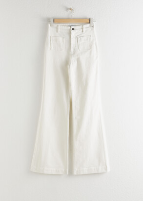 And other stories Flared High Waist Jeans