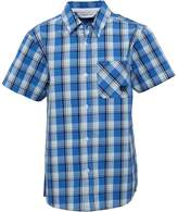 Kangaroo Poo Boys Checked Shirt Blue Multi