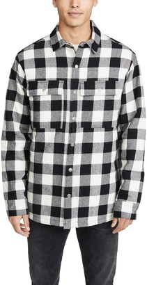 Ksubi Dub Long Sleeve Plaid Shirt