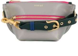 Sacai contrast-trimmed belt bag