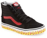 Vans Boy's 'Sk8-Hi Zip' Sneaker