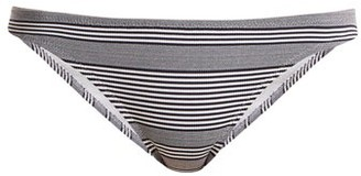 Heidi Klein Cote Sauvage Bikini Briefs - Grey Stripe