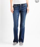 Aeropostale Curvy Bootcut Core Dark Wash Jean