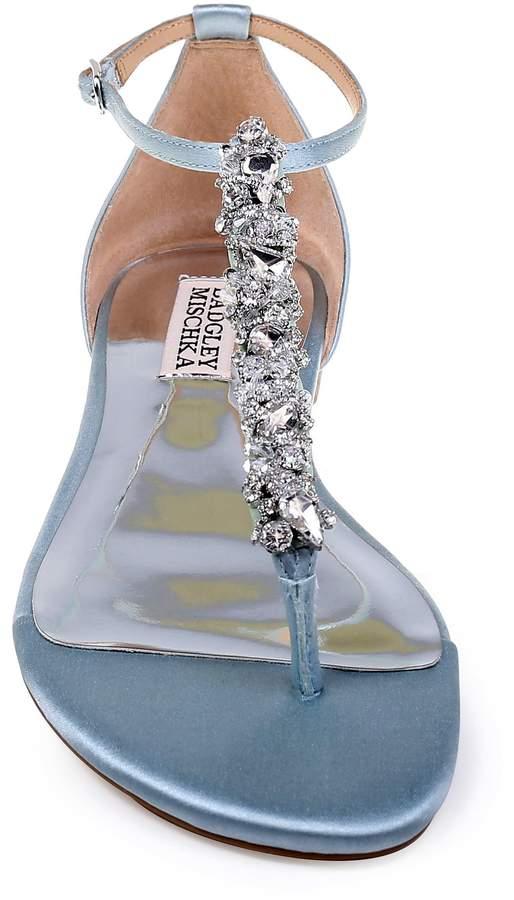 Badgley Mischka Collection Holbrook T-Strap Sandal