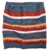 Muk Luks Women's Stripe Funnel Scarf