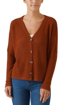 Hooked Up by IOT Juniors' Slouchy Cardigan