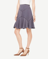 Ann Taylor Pettie Cutout Seamed Skirt
