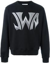 J.W.Anderson logo print sweatshirt - men - Cotton - M