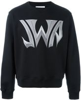 J.W.Anderson logo print sweatshirt - men - Cotton - XS