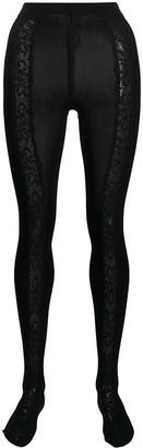 Dolce & Gabbana Lace Panel Tights