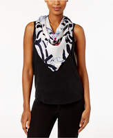 Vince Camuto Abstract Mural Silk Square Scarf
