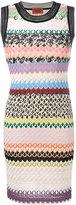 Missoni sleeveless mini dress - women - Rayon/Wool - 44