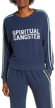 Spiritual Gangster Malibu Graphic Crewneck Sweatshirt