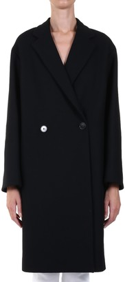 Stella McCartney Wool Coat Black