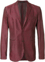Emporio Armani patterned tailored blazer
