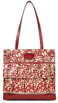 Patricia Nash Wildflower Collection Ruffle Toscano Tote