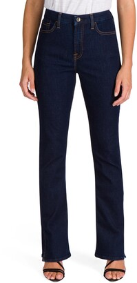JEN7 by 7 For All Mankind Split Hem Slim Bootcut Jeans