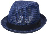 Ben Sherman Men's Open Vent Straw Fedora