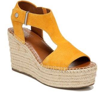 Franco Sarto Suede Wedge Heel Espadrilles - Treasure2