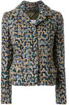Maison Margiela bouclé short jacket - women - Virgin Wool - 42