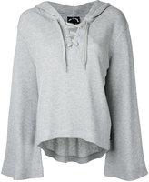The Upside bell sleeve hoodie - women - Cotton - S