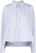Isabel Marant Macao striped boxy-fit shirt