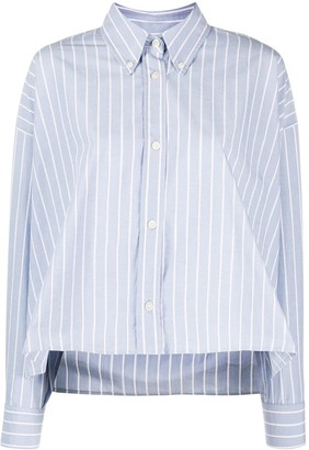 Isabel Marant Macao striped boxy-fit shirt