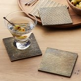 Crate & Barrel Drexel Coasters, Set of 4